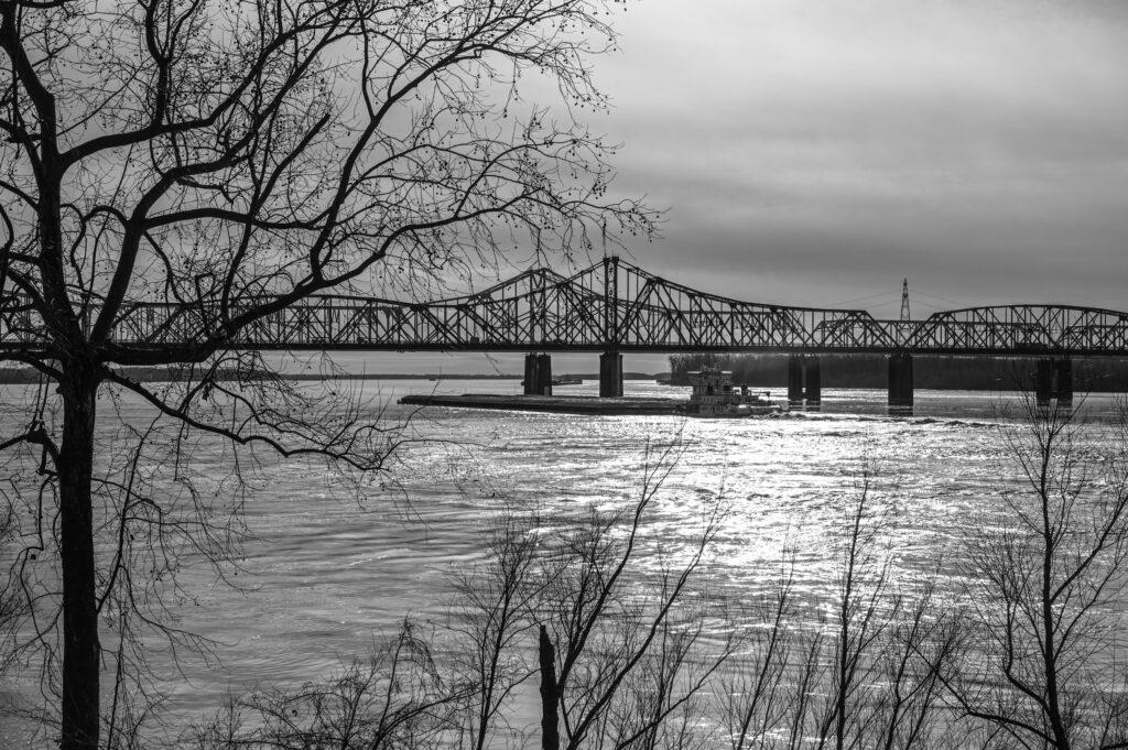 Dem Mississippi entlang