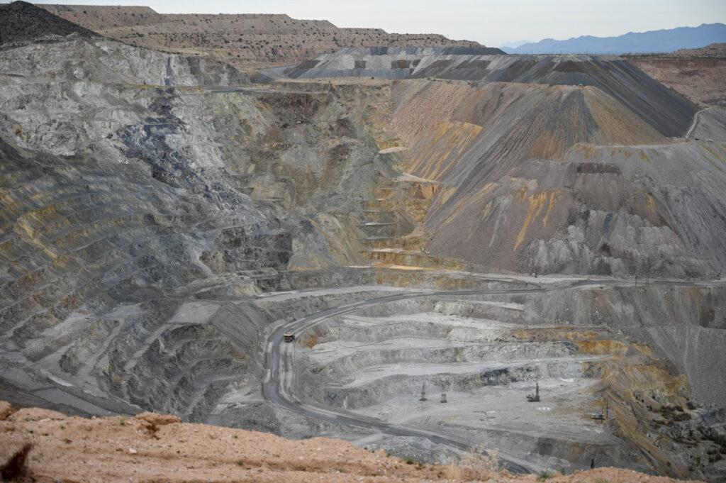 Kupfermine bei Tucson