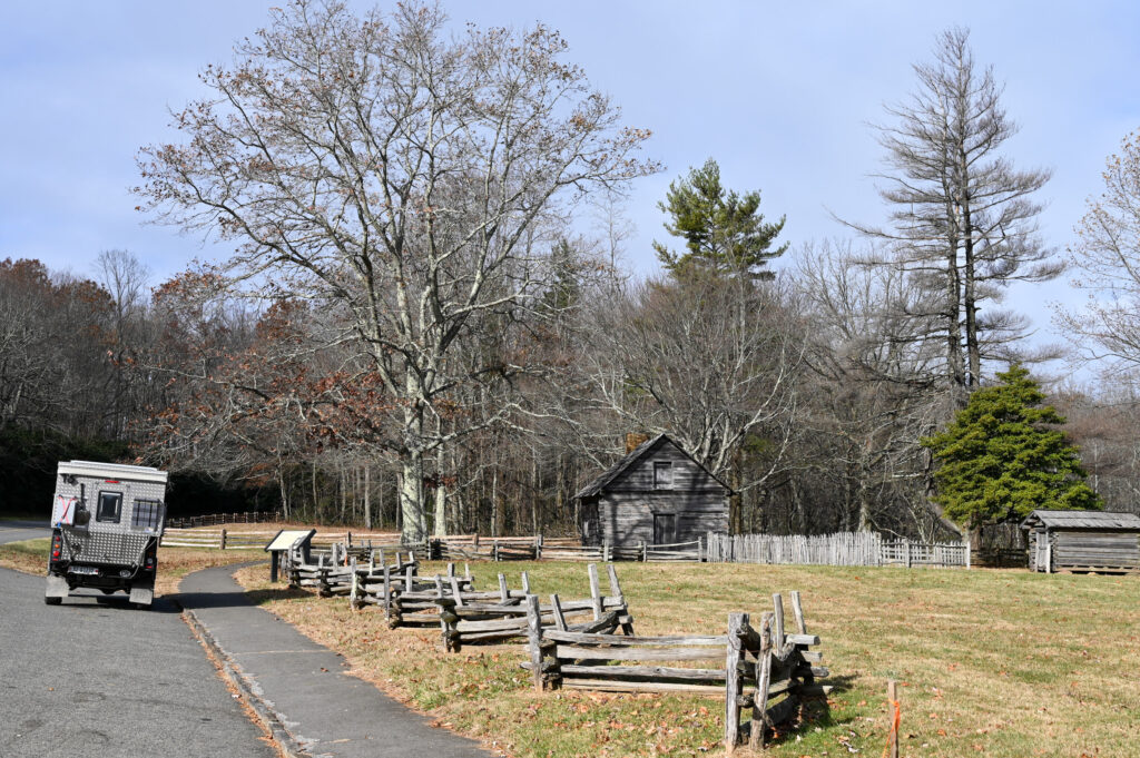 Blue Ridge Parkway- Puckett Cabin