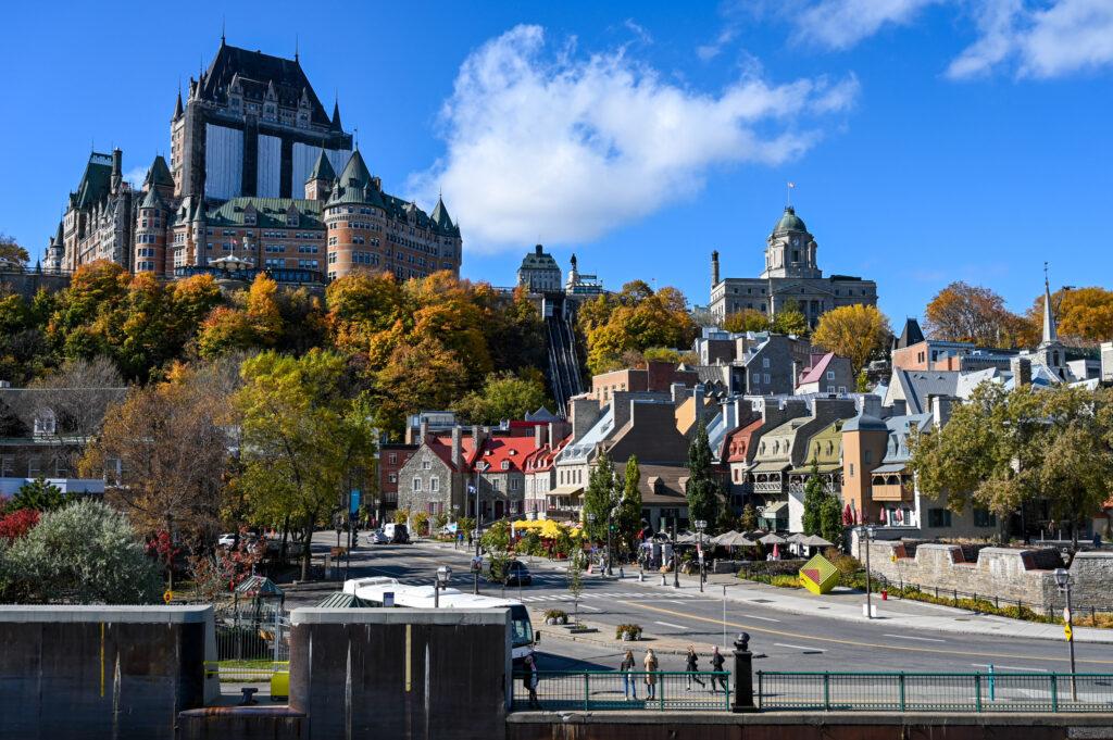 Vieux Québec mit Château Frontenac